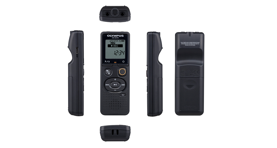 c3eebce6987 Digital Voice Recorder VN-541PC | Notetakers | Olympus