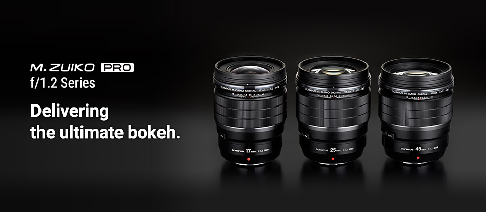 M.Zuiko PRO F1.2 prime lenses delivering the ultimate bokeh